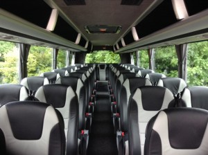 Castle Executive Coach interior