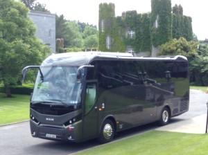 Touring with Castle Executive Coaches
